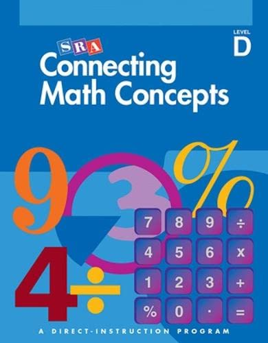 9780026844680: Connecting Math Concepts, 2003 Edition, Level D Presentation Book 1 (Direct Instruction)