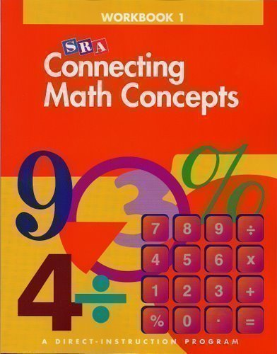 9780026846554: SRA Connecting Math Concepts: Workbook 1, Level B