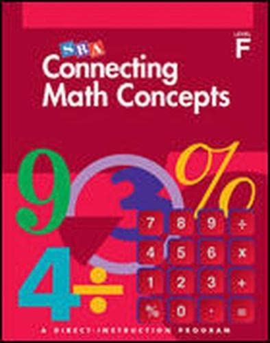 9780026846820: Connecting Math Concepts - Teacher Material Package - Level F