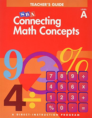 9780026846837: SRA Connecting Math Concepts Teacher's Guide Level A