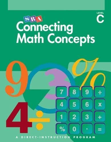 9780026846851: Connecting Math Concepts, Teacher's Guide, Level C