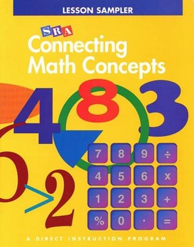 9780026847087: Connecting Math Concepts: Lesson Sampler (SRA)