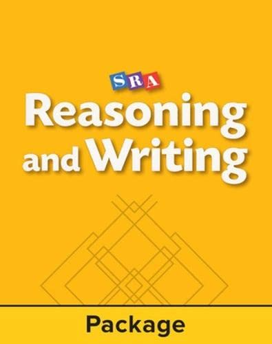 9780026847537: Reasoning and Writing Level A, Workbook 2 (Pkg. of 5) (REASONING AND WRITING SERIES)