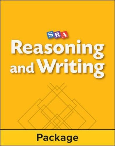 9780026847629: Reasoning and Writing - Workbook 1 (Pkg. of 5) - Level B