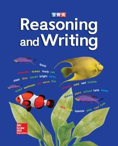 9780026847711: Reasoning and Writing Level C, Textbook (REASONING AND WRITING SERIES)