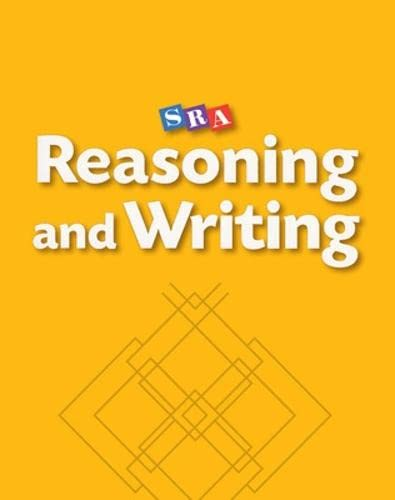 9780026847735: Reasoning and Writing Level C, Workbook (Pkg. of 5) (REASONING AND WRITING SERIES)