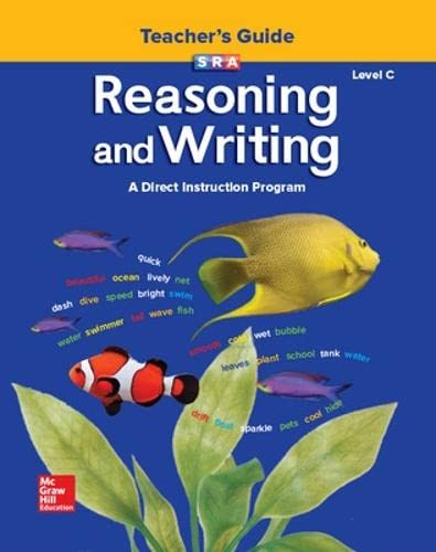 9780026847766: Reasoning and Writing Level C: Additional Teacher's Guide