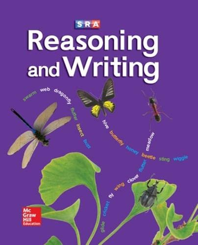 9780026847810: Reasoning and Writing, Level D (Student Textbook)