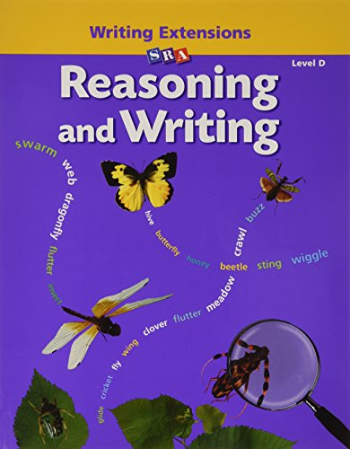 9780026847858: Reasoning and Writing - Writing Extensions Blackline Masters - Level D