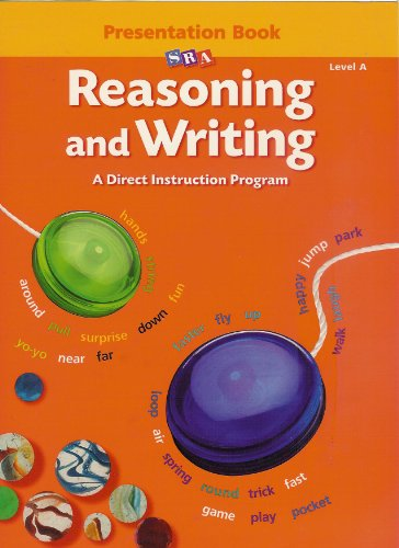 9780026848350: SRA Reasoning and Writing Level A Presentation Book