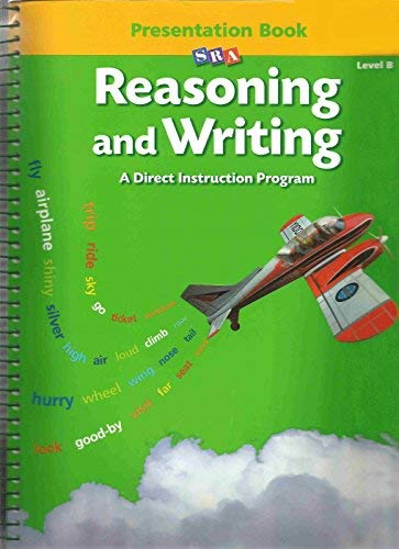 9780026848367: Reasoning and Writing, A Direct Instruction Program (Lebel B, Presentation Book)