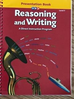9780026848411: Level F Presentation Book (Reasoning and Writing: A Direct Instruction Program)