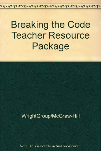 9780026848725: Breaking the Code Teacher Resource Package