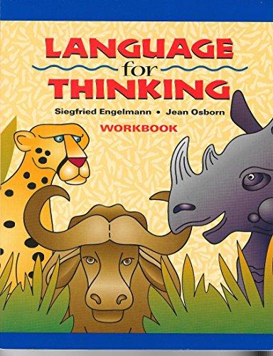 9780026848886: Language for Thinking Workbook