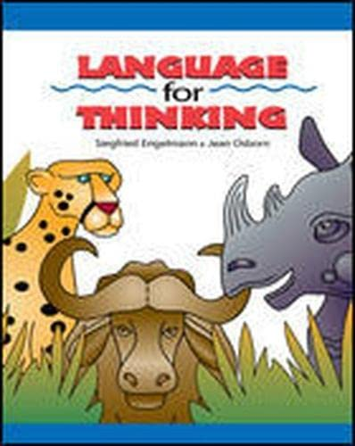 9780026848954: Language for Thinking: Teacher's Guide