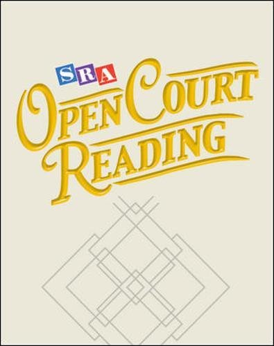 9780026849050: Open Court Reading 2002: Teacher Edition- Grade 3, Unit 1