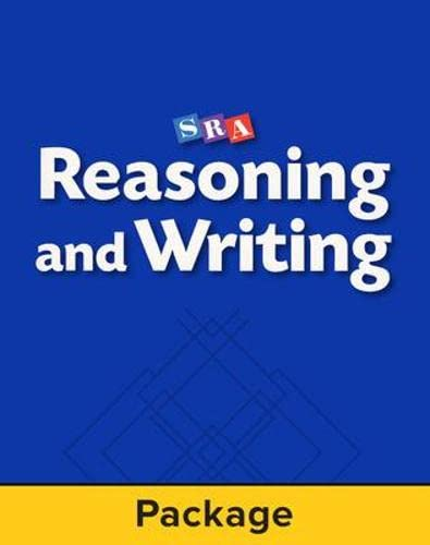 9780026849265: Reasoning and Writing - Teacher Materials - Level C