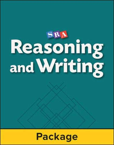 9780026849289: Reasoning and Writing - Teacher Materials - Level E