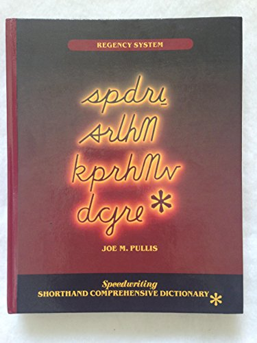 9780026851527: Spdri Srlhn Kprhmv Dcjre Speedwriting Shorthand Comprehensive Dictionary