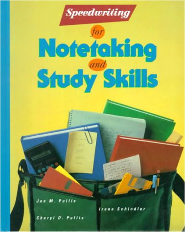 9780026851558: Speedwriting for Notetaking and Study Skills