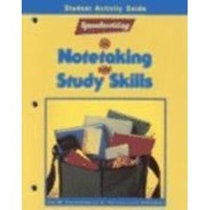 9780026851596: Speedwriting for Notetaking and Study Skills, Student Activity Guide