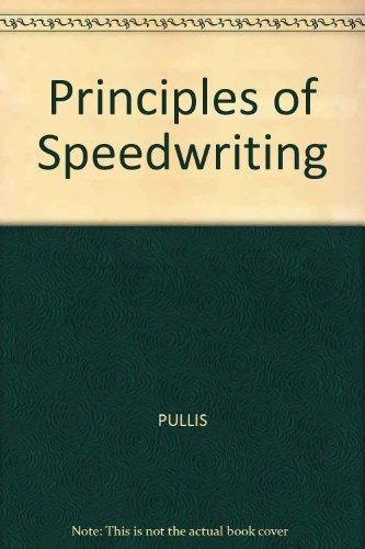 9780026856805: Principles of Speedwriting
