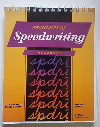 9780026856829: Princ of Speed Writing Regency II Ed Student Wrkbk