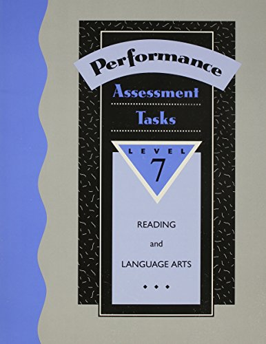 9780026857147: Performance-Based Assessment Tasks: Reading/Language Arts