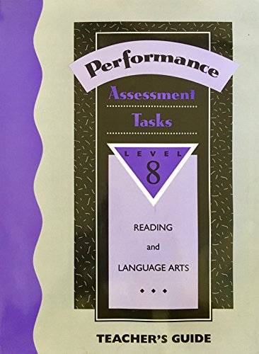 9780026857192: Performance-Based Assessment Tasks: Language Arts