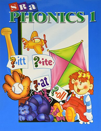 9780026860093: SRA Phonics - Student Edition - Book 1 - Grade 1: Book 1: Student Edition
