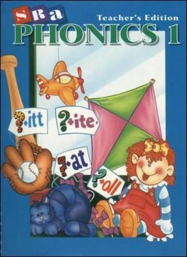 9780026860123: SRA Phonics - Teacher's Edition - Book 1 - Grade 1: Book 1: Teacher's Edition
