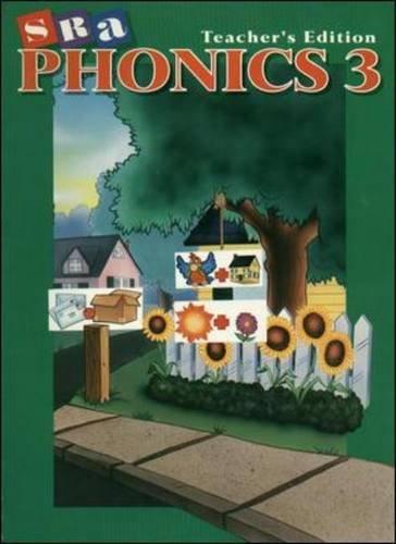 9780026860147: SRA Phonics - Level 3 - Teacher's Edition - Book 3 - Grade 3: Book 3: Teacher's Edition