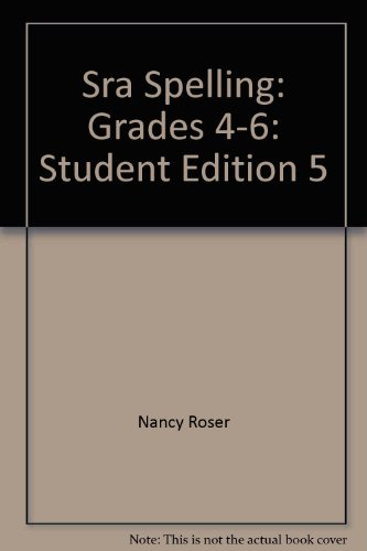 9780026861854: Sra Spelling - Level 5 - Student Edition