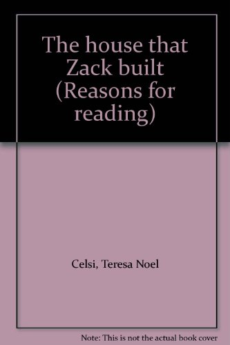 9780026862295: The house that Zack built (Reasons for reading)