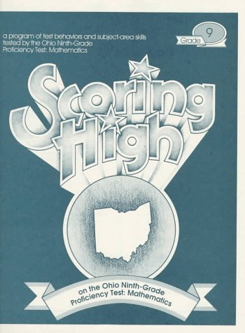 9780026863230: Scoring High on the Ohio Ninth-Grade Proficiency Test: Mathematics
