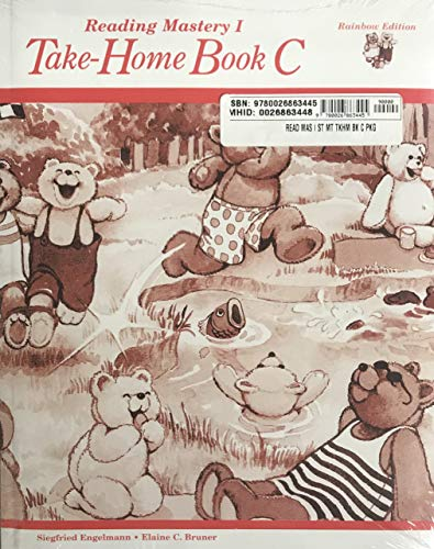 9780026863452: READING MASTERY 1 RAINBOW '95 -TAKE HOME BOOK C -^USE 5 PACK 863448: Level I (Grade 1): Take-Home Book C (Read Aloud Libraries)
