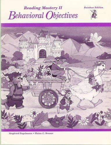 9780026863520: Reading Mastery II Behavioral Objectives (Rainbow Edition)