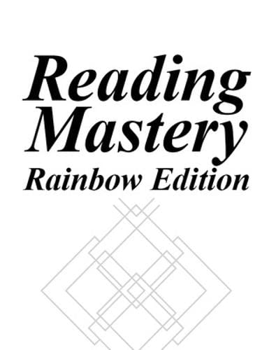 Reading Mastery III, Textbook A, Rainbow Edition: Siegfried Engelmann, Susan