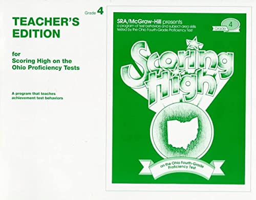 9780026870443: Teacher's Edition for Scoring High on the Ohio Proficiency Tests: Grade 4