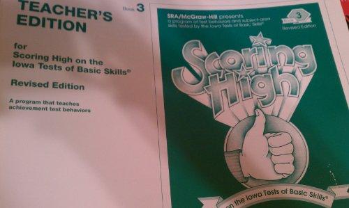 9780026870528: Scoring High on the Iowa Test of Basic Skills - ITBS Book 3