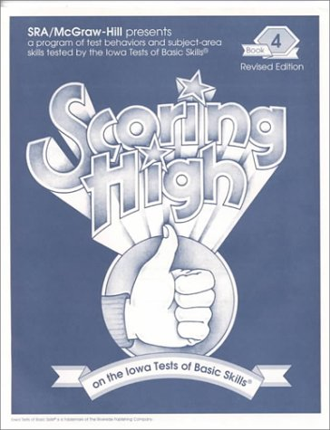 9780026870535: Scoring High on the Iowa Tests of Basic Skills - Itbs, Book 4