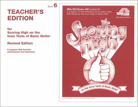 9780026870580: Scoring High on the Iowa Tests of Basic Skills