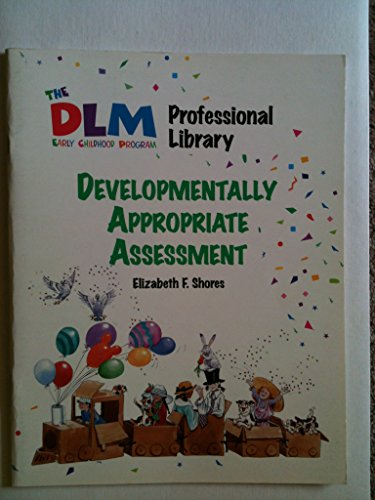9780026872164: Developmentally Appropriate Assessment