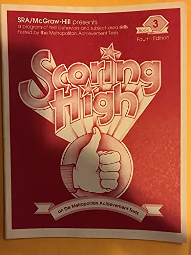9780026873796: Scoring High on the Metropolitan Achievement Tests - Mat7