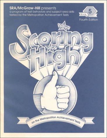 9780026873833: Scoring High on the Metropolitan Achievement Tests - Mat7