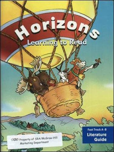 9780026875370: Horizons: Learning to Read, Fast Track A-B Literature Guide
