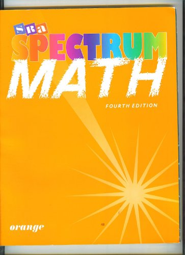 9780026875448: Spectrum Math Orange Fourth Edition - student