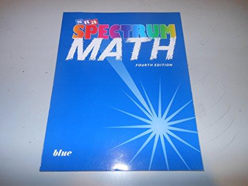 9780026875479: Spectrum Math Blue Bk Level 7 Student