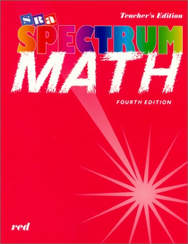 9780026875516: Spectrum Mathematics - Red Book, Level 3 Teacher's Edition
