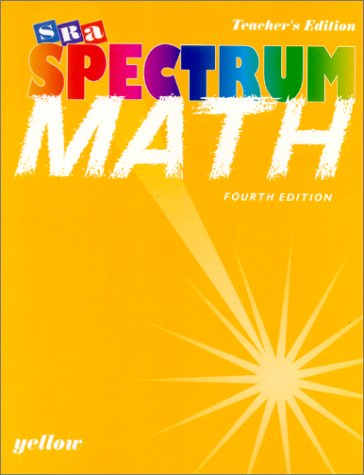 9780026875530: Spectrum Mathematics - Yellow Book, Level 5 - Teacher's Edition